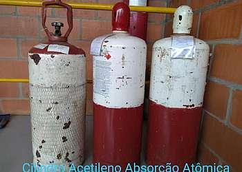 Acetileno para absorção atômica