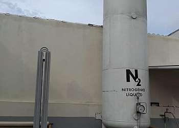 Nitrogênio líquido para corte laser